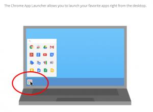 Chrome App Launcher2