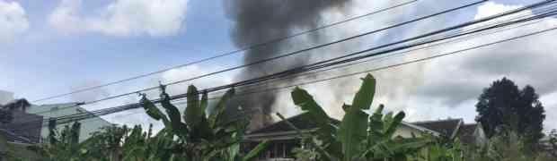 Kebakaran di Babakan Jeruk Bandung - November 2016