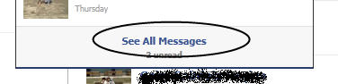 show all message di fb