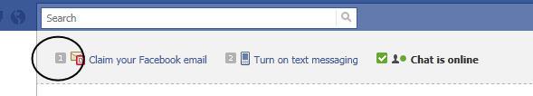klaim emailmu di fb