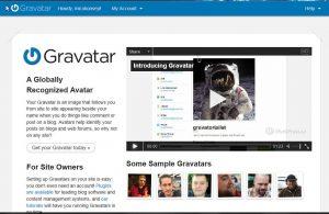 homepage gravatar.com